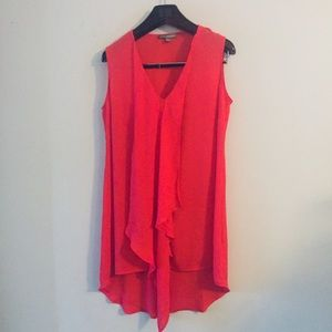 😎 Kate & Mallory coral shift dress. Size medium.